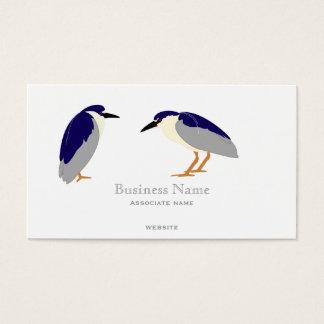 Heron business cards