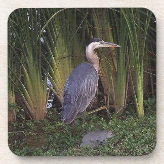 Heron by Reeds Cork Coaster