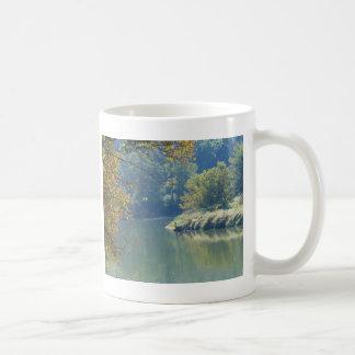 Heron by the River Coffee Mug