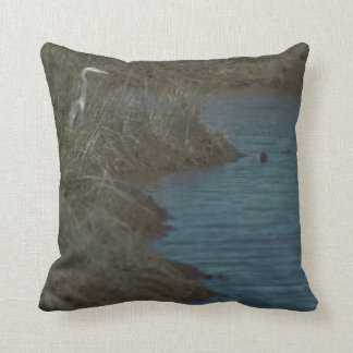 Heron by the Water Pillow