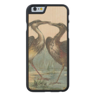 Heron Carved Maple iPhone 6 Slim Case