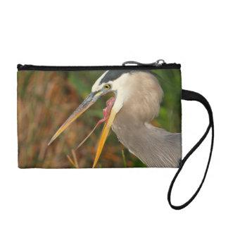 heron coin purse