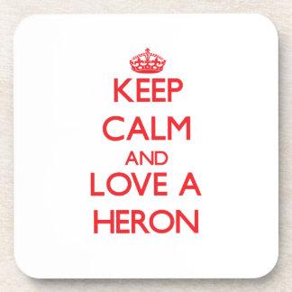 Heron Drink Coaster