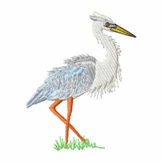 Heron Embroidered Polo Shirt
