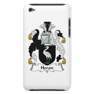Heron Family Crest Barely There iPod Covers