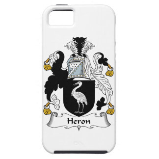 Heron Family Crest iPhone 5 Cases