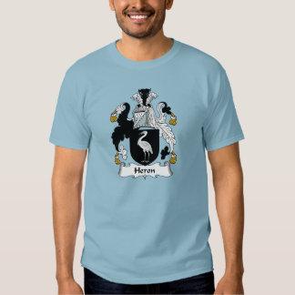 Heron Family Crest Shirts