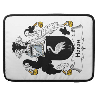Heron Family Crest Sleeve For MacBook Pro
