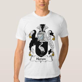 Heron Family Crest Tshirts
