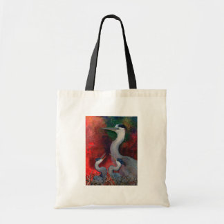Heron Family Tote Bag