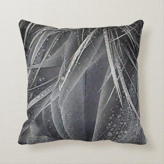 Heron Feathers Throw Pillow