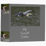 Heron Fly Past Avery Binder