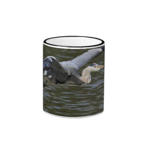 Heron Fly Past Mug