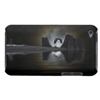 Heron Flying to Moon Fantasy Art iPod Touch Case