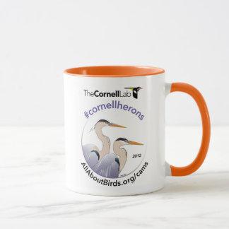 Heron Illustration Mug
