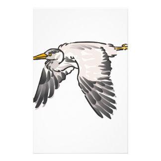 Heron In Flight Stationery