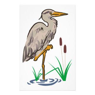 Heron In Marsh Stationery