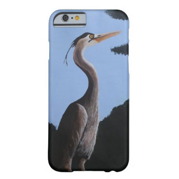 alburtonart Heron in the Blue Case