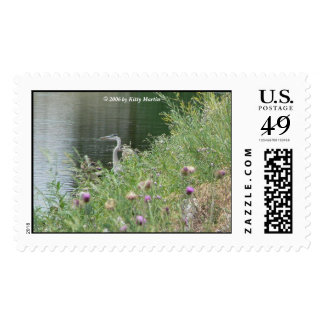 Heron in the Rough Postage Stamps