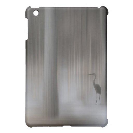 Heron in Trees iPad Mini Covers