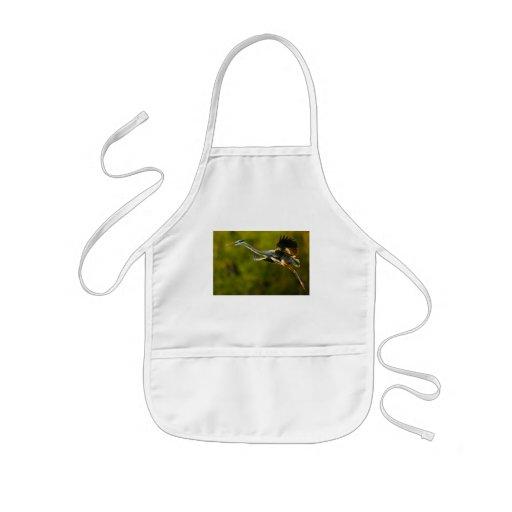 heron kids' apron