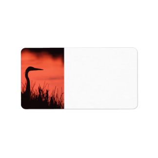heron label