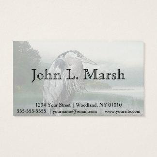 Heron Lake Business Card