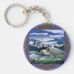 Heron lake keychains