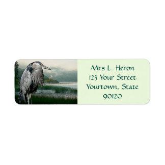 Heron Lake Label