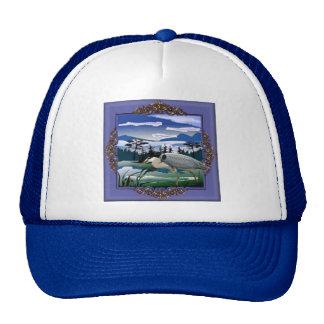 Heron lake trucker hat