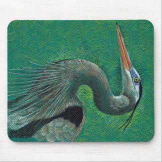 Heron mousepad