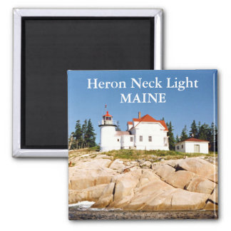 Heron Neck Light, Maine Magnet