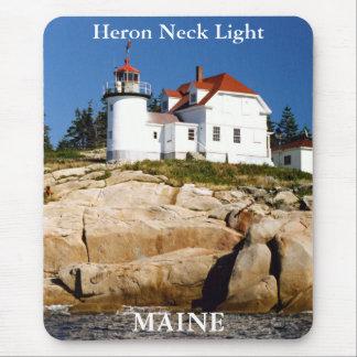 Heron Neck Light, Maine Mousepad