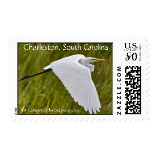 Heron of Charleston SC Postage