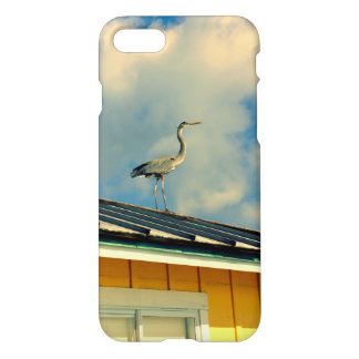 Heron on a Roof iPhone 8/7 Case