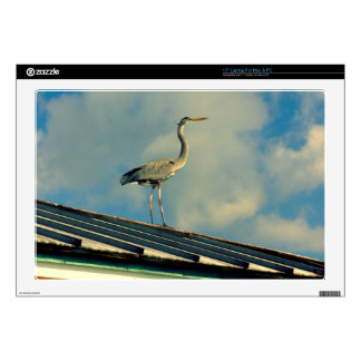 """Heron on a Roof Skins For 17"""" Laptops"""