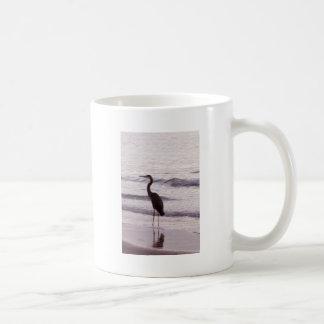 Heron on the Beach - Florida Coffee Mug