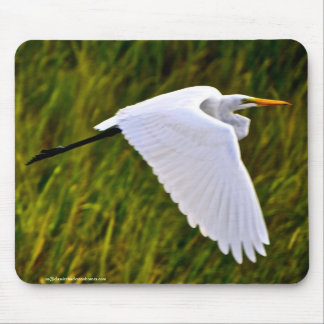 Heron or Egret? Mouse Pad