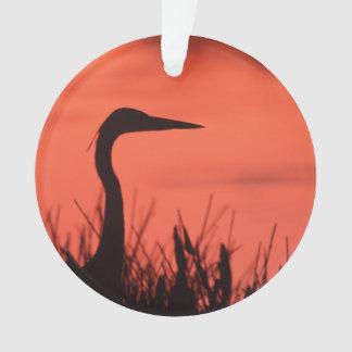 heron ornament