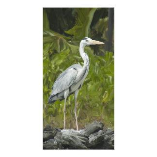 Heron Custom Photo Card