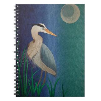 Heron Quilt Notebook