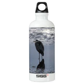 Heron Reflected Aluminum Water Bottle