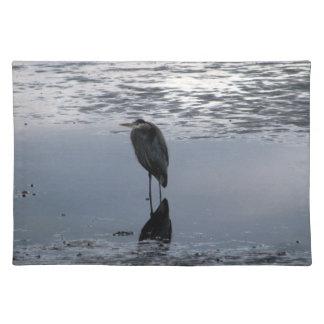 Heron Reflected Placemat