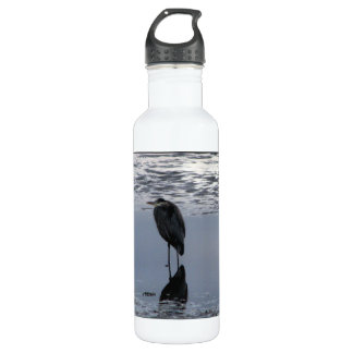 Heron Reflected Stainless Steel Water Bottle