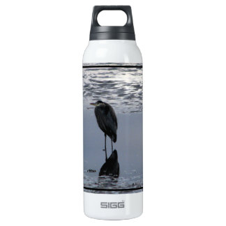 Heron Reflected Thermos Bottle
