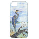 Heron Sentry - Watercolor Pencil Cover For iPhone 5C
