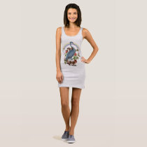 Heron Spirit Animal Tank Dress