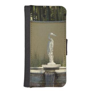 Heron Statue iPhone SE/5/5s Wallet
