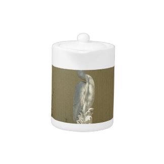 Heron Statue Teapot