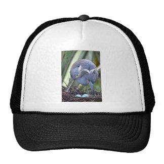 Heron Strengthening Her Nest Trucker Hat